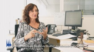 Esther Vilela Coord saude Mulher do MS